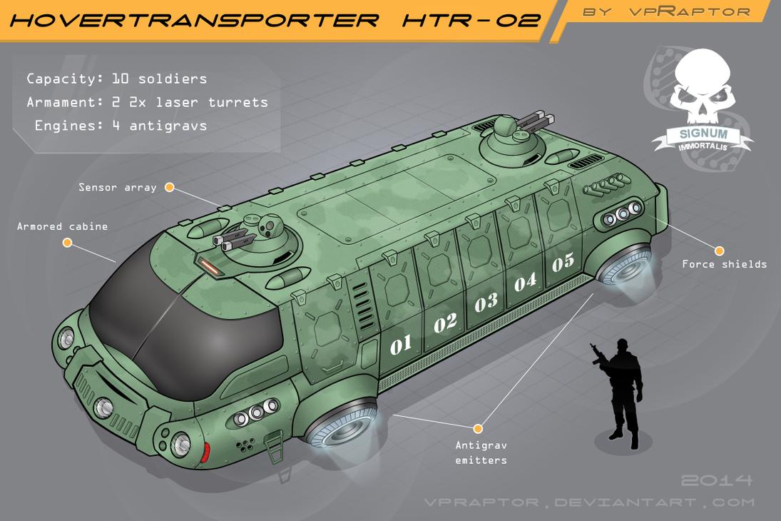 HoverTransporter HTR-02 Colored by vpRaptor