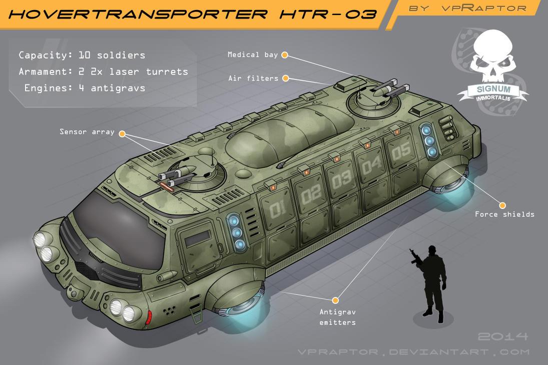 HoverTransporter HTR-03 Color by vpRaptor