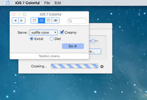 iOS 7 Mac Theme for Flavours: iOS 7 Colorful by ccard3dev
