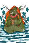 Cookie Swamp Monster