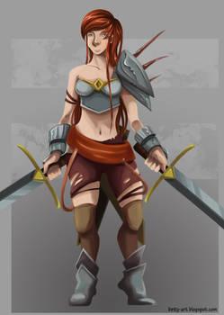 Female Warrior Concept