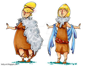 Slavic character designs|001