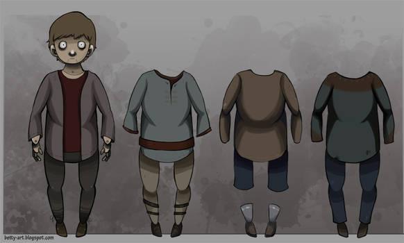 Puppet Boy - Costumes