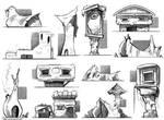 Fantasy Buildings|sketches