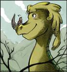 Sketch A Day_038|Good Dino