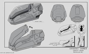 Cryostasis chamber - concept