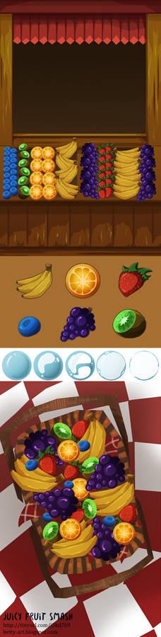 ::Juicy Fruit Smash::