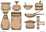 Sketch A Day_117 Pots