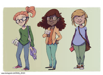 Science! Character line-up