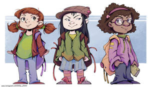 Backpack gang