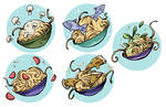 Food Game Icons