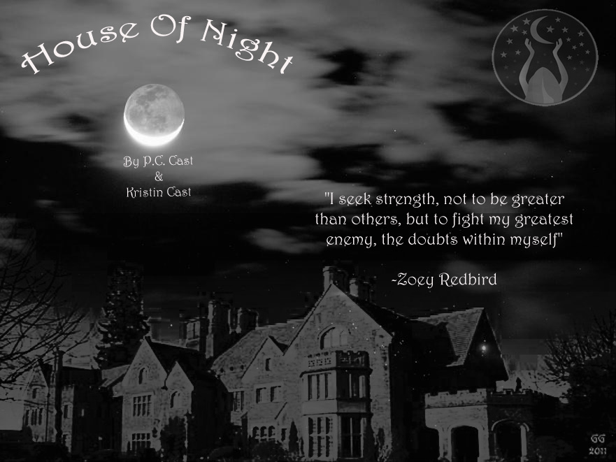 House of night wallpaper by just gg on deviantart for Housse of night