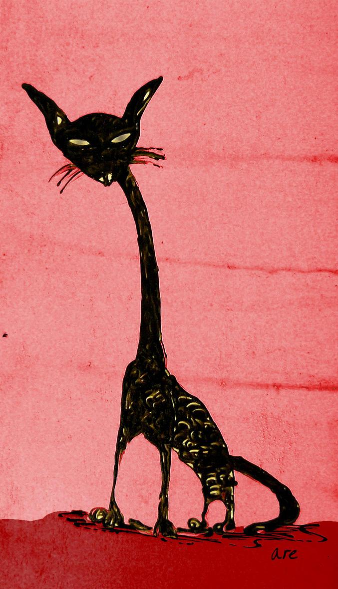 Black Cat by alliserdem