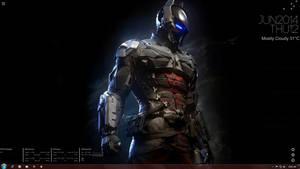 Rainmeter Desktop Customization | Dark Knight