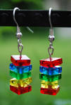 Lego Stack Earrings