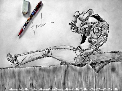 Destiny Cowgirl pencil