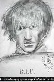 Heath Ledger in memory of