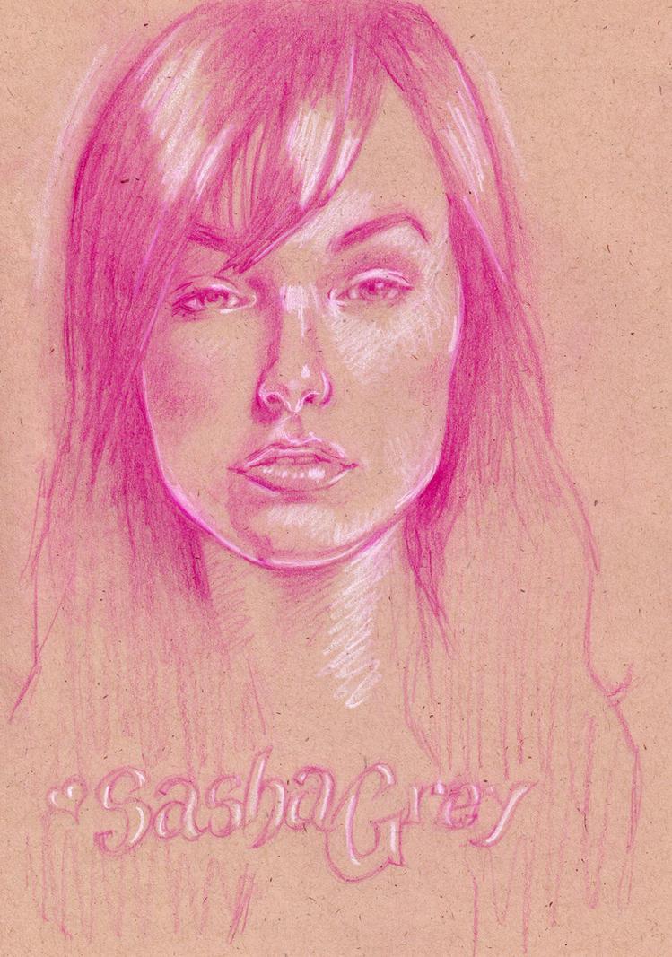 Sasha Grey by kirstgrafx