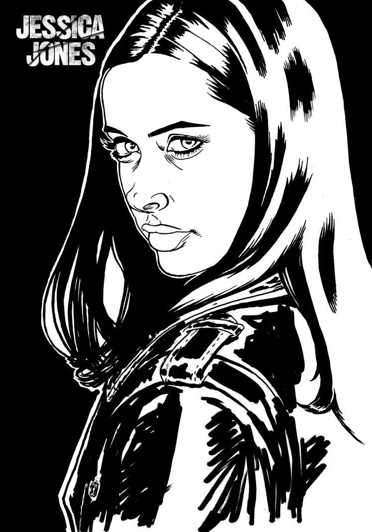 Jessica Jones by kirstgrafx