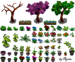 Nature Tile II RPG Maker