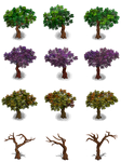 RPG Maker Trees