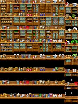 RPG Maker Tile - Furniture