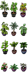 RPG Maker VX - Plants I by Ayene-chan