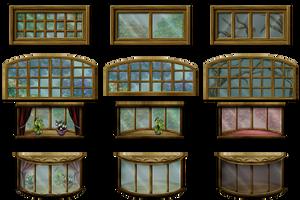 RPG Maker VX - Big Windows by Ayene-chan