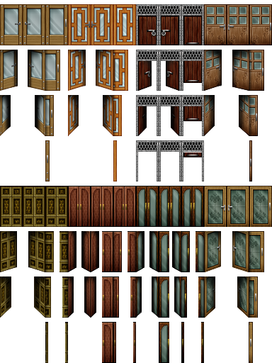 rpg maker vx door ii by ayene chan on deviantart. Black Bedroom Furniture Sets. Home Design Ideas