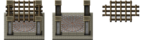 RPG Maker VX Town Square by Ayene-chan
