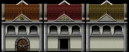 RPG Maker VX - AR Building by Ayene-chan