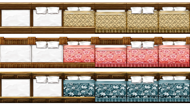 RPG Maker VX - Big Beds by Ayene-chan