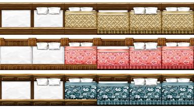 RPG Maker VX - Big Beds by Ayene-chan