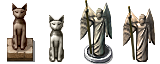 RPG Maker VX - Statues by Ayene-chan
