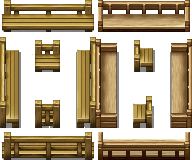 RPG Maker VX - Benches by Ayene-chan