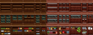 RPG Maker Tile - Furniture II