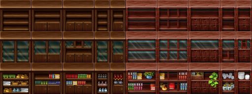 RPG Maker Tile - Furniture II by Ayene-chan