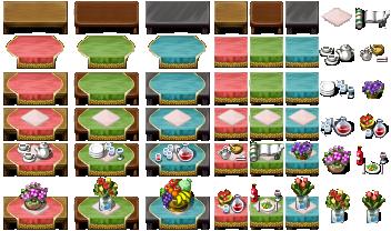 RPG Maker VX - Tables by Ayene-chan