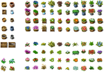 RPG Maker VX - Flowers and Pots