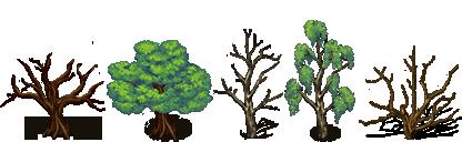 RPG Maker VX/Ace - Trees