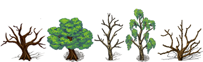 RPG Maker VX/Ace - Trees by Ayene-chan