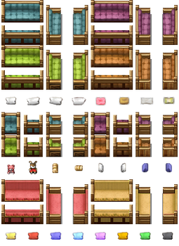 RPG Maker VX/Ace - Sofas and Armchairs