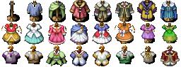 RPG Maker VX/Ace - Clothes