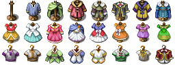 RPG Maker VX/Ace - Clothes