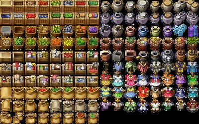 RPG Maker VX/Ace - Items by Ayene-chan