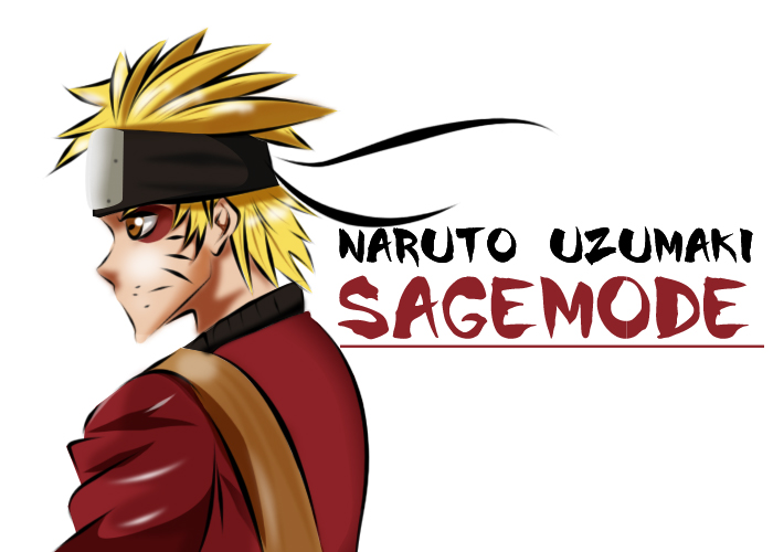 Naruto Sage Mode by denzel94