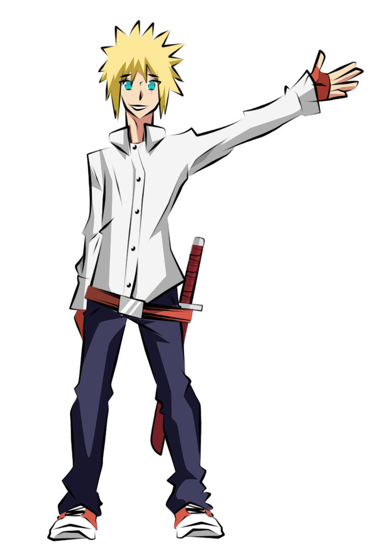 Kenichi Nabari Character Design by denzel94
