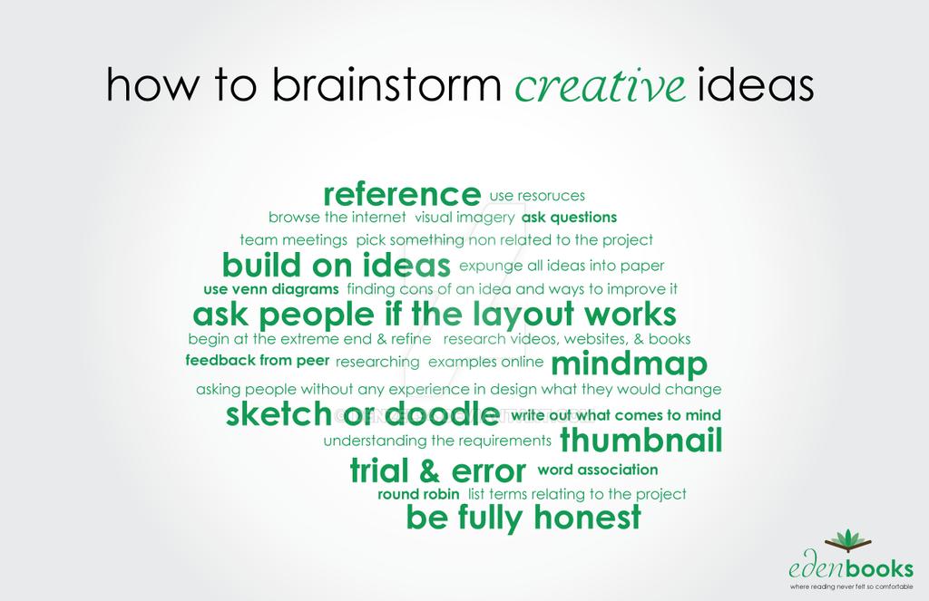 Eden Books Brainstorm Print Ad by denzel94