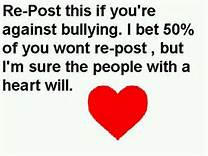 Anti Bully Message