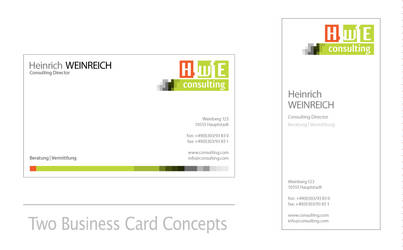 Logo + Business Card Concepts